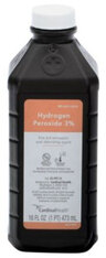 Aaron Hydrogen Peroxide Solution, 3%, 16oz