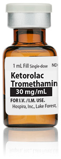 Ketorolac Tromethamine Injection, USP, 30mg/mL
