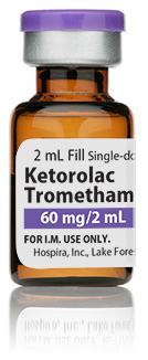 Ketorolac Tromethamine Injection, USP, 30mg/mL