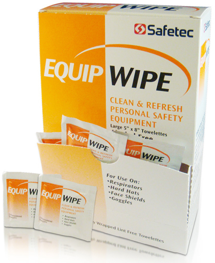 Safetec<sup>®</sup> Equip Wipe, Inidividually Wrapped