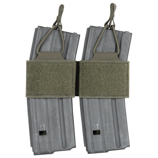 Peraflex M16/M4 OpenTop Bungee Double Magazine Pouch, Black