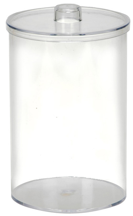 Plastic Stor-A-Lot Sundry Jar, Clear, No Label, Each