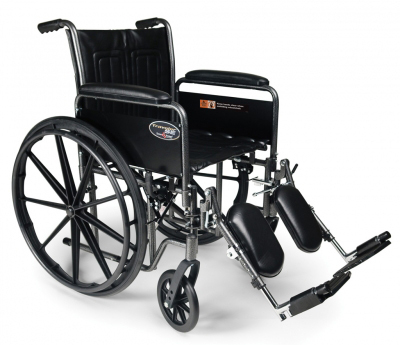 Graham-Field<sup>™</sup> Traveler<sup>®</sup> SE Wheelchair, 18&rdquo; x 16&rdquo;