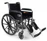 Graham-Field<sup>™</sup> Traveler<sup>®</sup> SE Wheelchair, 20&rdquo; x 16&rdquo;