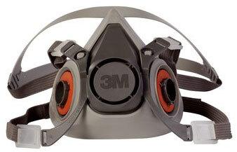 3M<sup>™</sup> Half Facepiece Reusable Respirator 6200, Medium