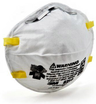 3M<sup>™</sup> Particulate Respirator 8210 N95