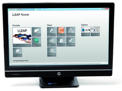 Laerdal All-in-One Panel PC Instructor Patient Monitor