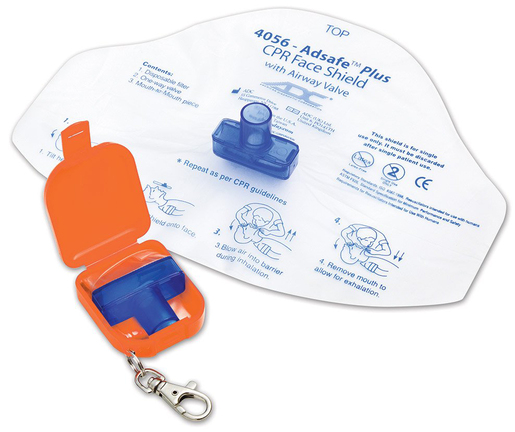 ADC<sup>®</sup> Adsafe<sup>™</sup> Plus Face Shield, Orange Carry Case with Keychain