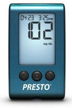 AgaMatrix<sup>®</sup> Presto Blood Glucose Meter Kit Powered by WaveSense
