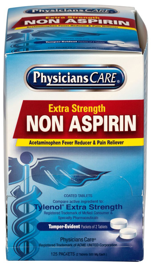 PhysiciansCare<sup>®</sup> Non-Aspirin Acetaminophen Pain Reliever Medication