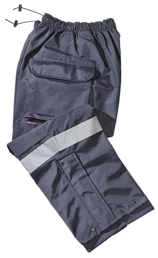Gerber 911 Rain Pants, Navy with Silver Trim