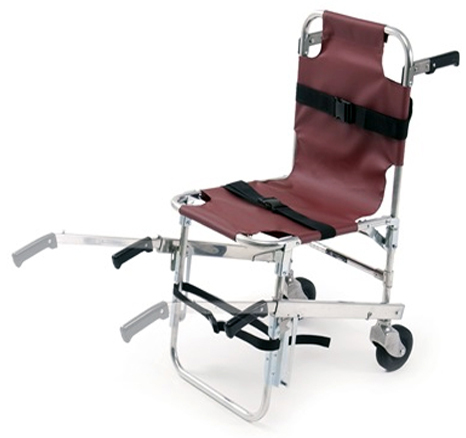 Ferno Model 40 Stair Chair, Burgundy
