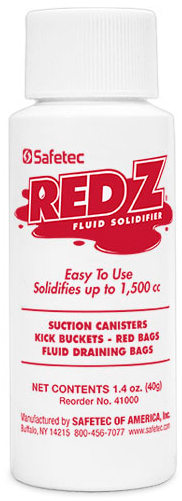 Safetec<sup>®</sup> Red Z<sup>®</sup> Can Z<sup>®</sup> Bottle, 2oz Bottle