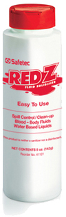 Safetec Red Z<sup>&reg;</sup> Spill Control Solidifier, 5oz Shaker