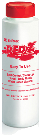 Safetec Red Z<sup>®</sup> Spill Control Solidifier