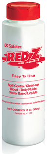 Safetec Red Z<sup>&reg;</sup> Spill Control Solidifier, 11oz Shaker