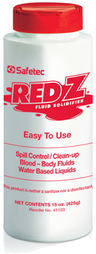 Safetec Red Z<sup>&reg;</sup> Spill Control Solidifier, 15oz Shaker