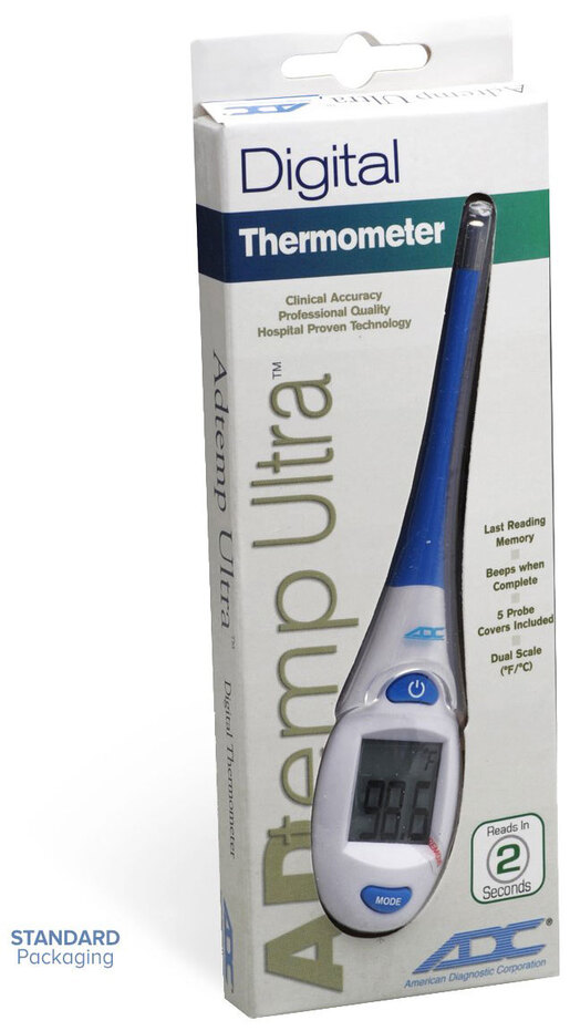 ADC Adtemp<sup>™</sup> Ultra 417 Digital Thermometer, 2-second