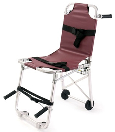 Ferno Model 42 Stair Chair with Vinyl Cover