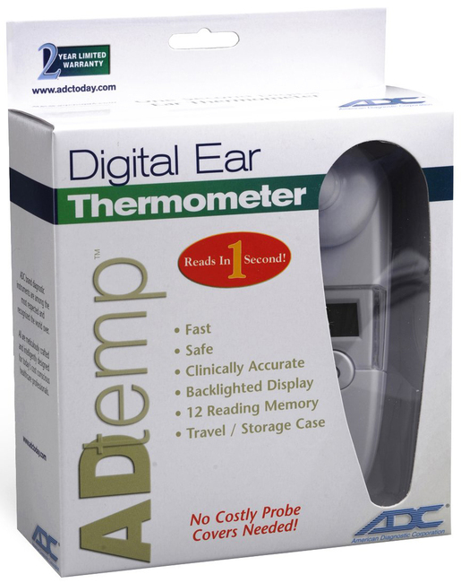 ADC<sup>®</sup> Adtemp<sup>™</sup> 421 Digital Ear Thermometer