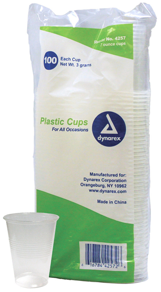 Dynarex<sup>®</sup> Plastic Drinking Cups