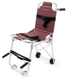 Ferno Model 42 Stair Chair with Vinyl Cover, Burgundy