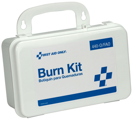 First Aid Only<sup>®</sup> Burn Kit in Plastic Case, 11-piece