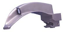 Rusch<sup>®</sup> Emerald Fiber Optic Laryngoscope Blade, MacIntosh, Infant, Size 1