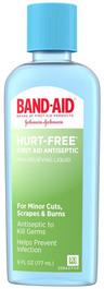 Johnson & Johnson Band-Aid<sup>&reg;</sup> Hurt-free Antiseptic Wash, 6oz Bottle