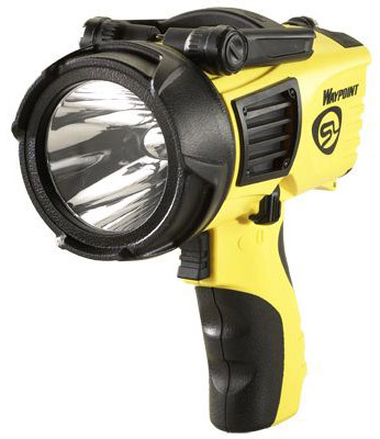 WayPoint<sup>®</sup> Flashlight with 12V DC Power Cord, Yellow