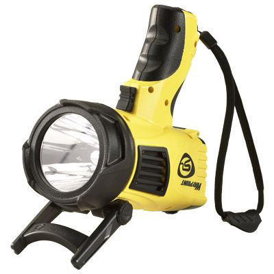 WayPoint<sup>&reg;</sup> Flashlight with 12V DC Power Cord, Yellow