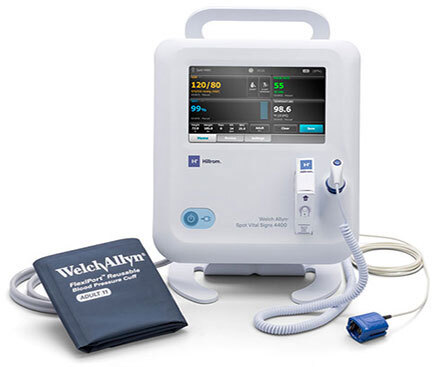 Welch Allyn<sup>®</sup> Spot Vital Signs 4400 Device with Nonin Pulse Ox