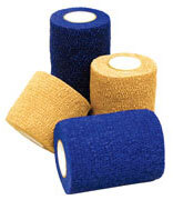 Kendall<sup>™</sup> Flex-Wrap Self-Adherent Wrap, 3&rdquo;, Blue