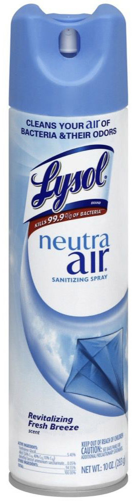 Lysol<sup>®</sup> Neutra Air<sup>®</sup> Disinfecting Spray, 10oz