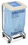 MDI Biohazard Bags, Ultra Tuff Linen, 30-33gal, Blue