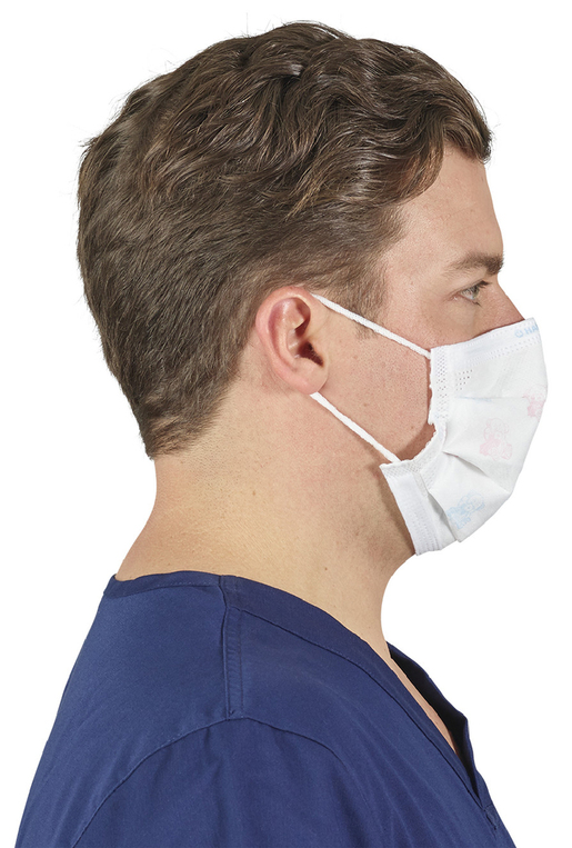 Halyard Fluidshield Pleated Mask with Earloops