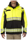 5.11<sup>&reg;</sup> EMS High Visibility Parka<sup>™</sup>, Dark Navy/Lime, 3X-Large