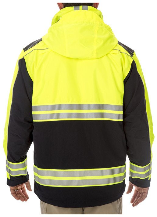 5.11<sup>®</sup> EMS High Visibility Parka<sup>™</sup>, Dark Navy/Lime