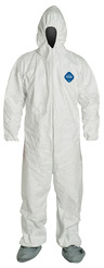 DuPont<sup>™</sup> Tyvek<sup>®</sup> Coveralls with Boots, Large