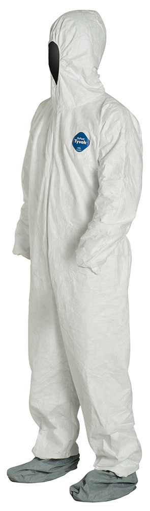 DuPont<sup>™</sup> Tyvek<sup>®</sup> Coveralls with Boots