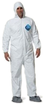 DuPont<sup>™</sup> Tyvek<sup>®</sup> Coveralls with Boots, 3X-Large