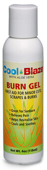 Cool Blaze Pain Relieving Gel with Aloe Vera, 4oz