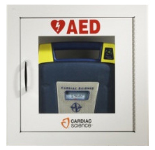 Cardiac Science<sup>&reg;</sup> AED Wall Cabinet, Surface Mount