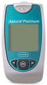 ARKRAY Assure<sup>&reg;</sup> Platinum Blood Glucose Meter Monitoring System