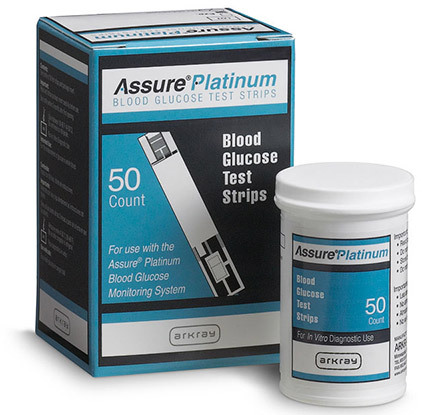 ARKRAY Assure<sup>®</sup> Platinum Test Strips