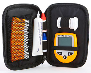 Microdot<sup>&reg;</sup> Carry Case, Orange