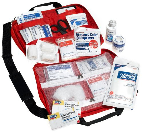 First Aid Only<sup>®</sup> First Responder Kit, Medium, 120-piece