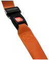 DMS BioThane<sup>®</sup> G1 Stretcher Straps, Metal Push Button Buckle, 1-piece, 2', Orange