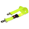 DMS BioThane<sup>&reg;</sup> G1 Stretcher Straps, Metal Push Button Buckle with Swivel Speed Clips, 2-piece, 5', Neon Yellow