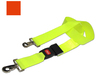 DMS BioThane<sup>®</sup> G1 Stretcher Straps, Metal Push Button Buckle with Swivel Speed Clips, 2-piece, 5', Orange